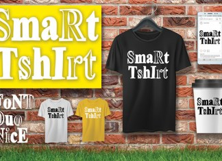 SmaRtTshIrt Font