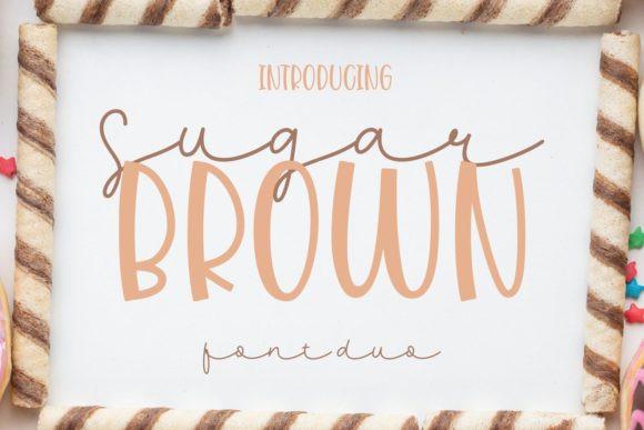 Sugar Brown Font