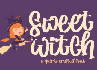 Sweet Witch Font