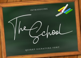 The School Font