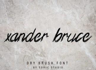 Xander Bruce Font