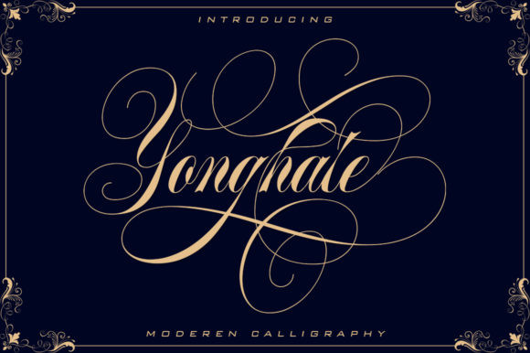 Yonghate Font