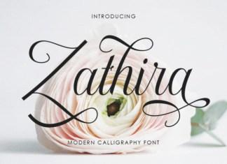 Zathira Font