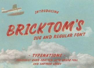 Bricktoms Font