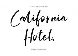 California Hotel Font