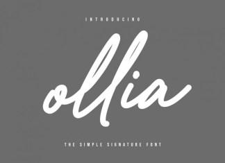 Ollia Font