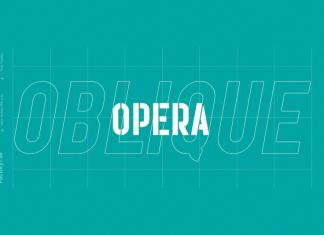 Opera Oblique Font