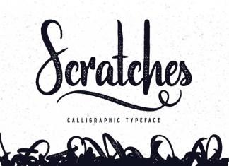 Scratches Font