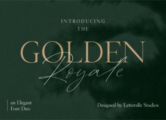 Golden Royale Font