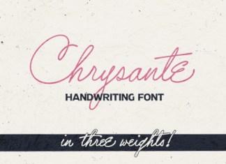 Chrysante Font