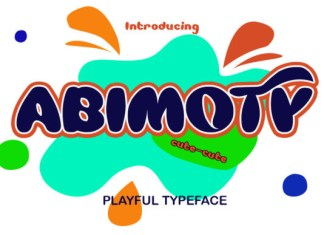 Abimoty  Font