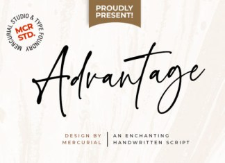 Advantage Font