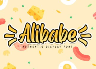 Alibabe Font