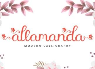Allamanda Font