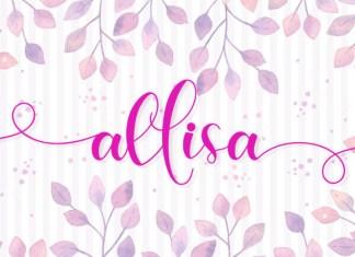 Allisa Font