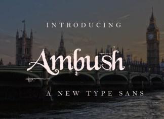 Ambush  Font