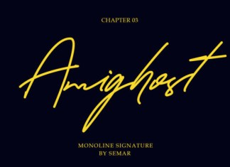 Amighost  Font