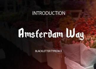 Amsterdam Way Font