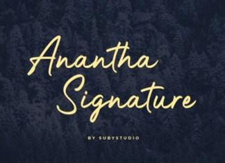 Anantha Font
