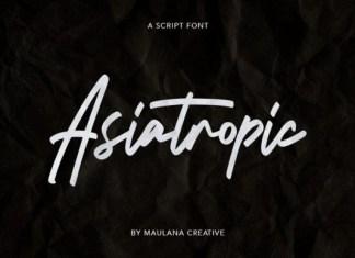 Asiatropic Font