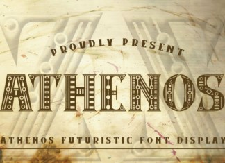 Athenos  Font