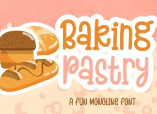 Baking Pastry Font