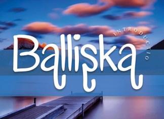 Balliska Font