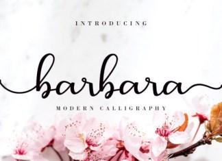 Barbara Calligraphy Font