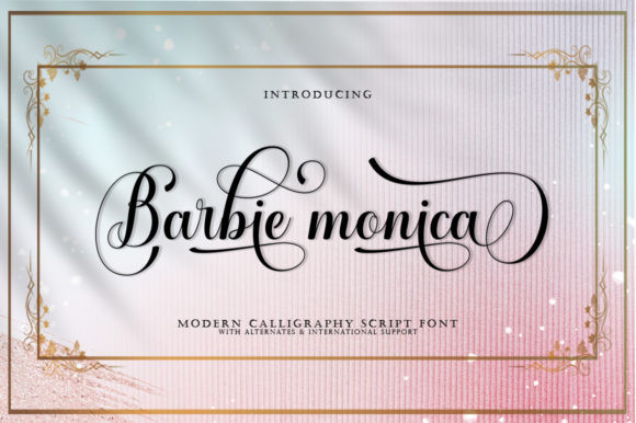 Barbie Monica Font
