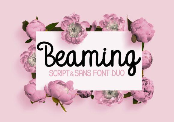 Beaming Font