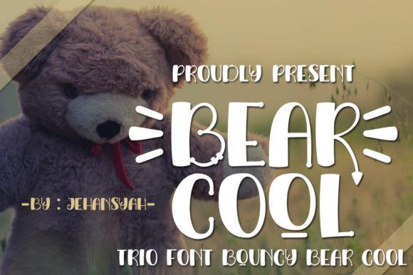 Bear Cool Font