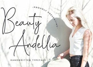 Beauty Andellia  Font