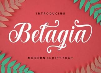 Belagia Font