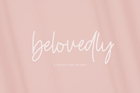 Belovedly Font