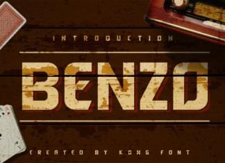 Benzo Font