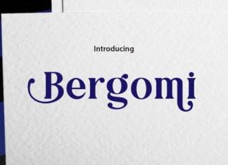 Bergomi Font