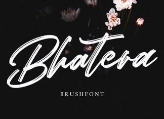 Bhatera Font