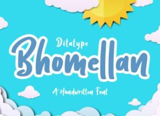 Bhomellan Font