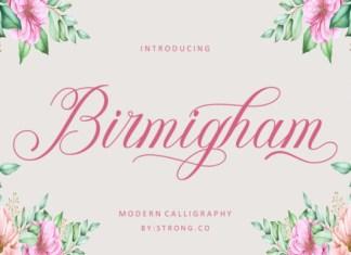 Birmigham Font