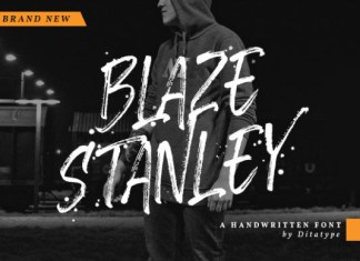 Blaze Stanley Font