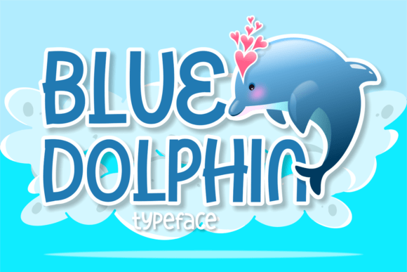 Blue Dolphin Font