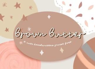 Brown Butter Font