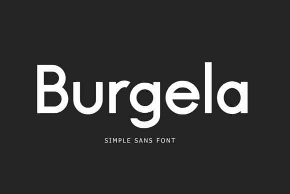 Burgela Font