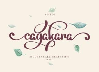 Cagakara Font