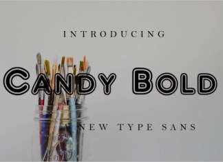 Candy Bold Font