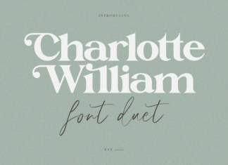 Charlotte William  Font