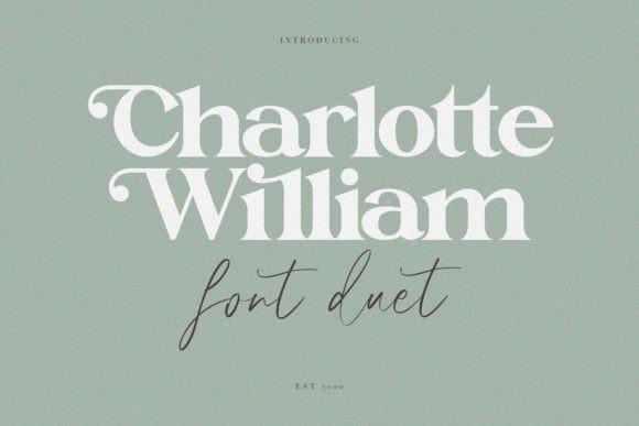 Charlotte William  Font