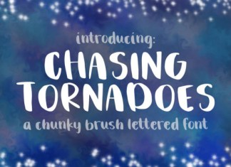 Chasing Tornadoes  Font