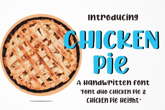 Chicken Pie Font