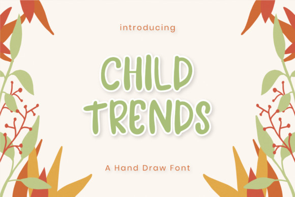 Child Trends Font